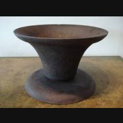 Cast iron Vase
