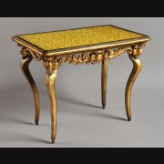 C18th Italian giltwood centre/ console table