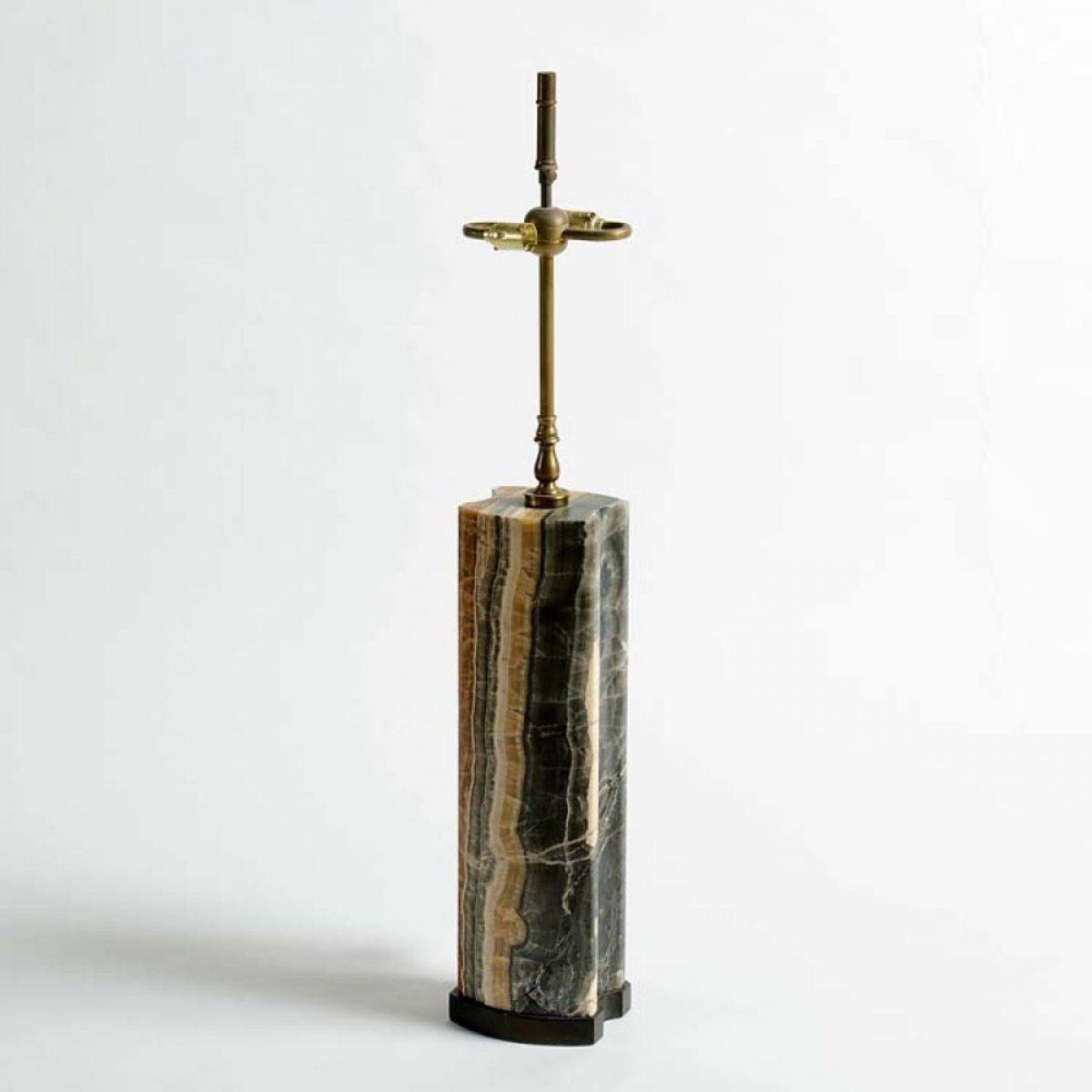 Marble Lamp, c 1950's