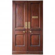 Pair of Georgian mahogany Doors