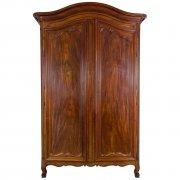 Grand mahogany Armoire