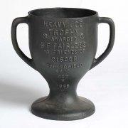 'Heavy Job' Trophy in cast iron, 1935