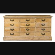 C19th Pine Cabinet of Drawers