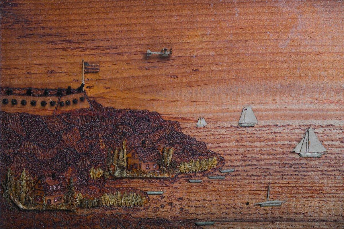 1940's Folk Art
