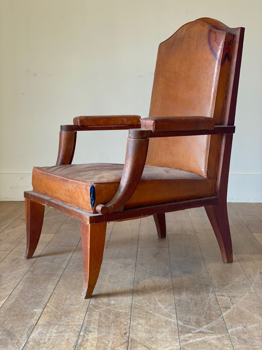 Library Chair by Andre Arbus (1903-1969)
